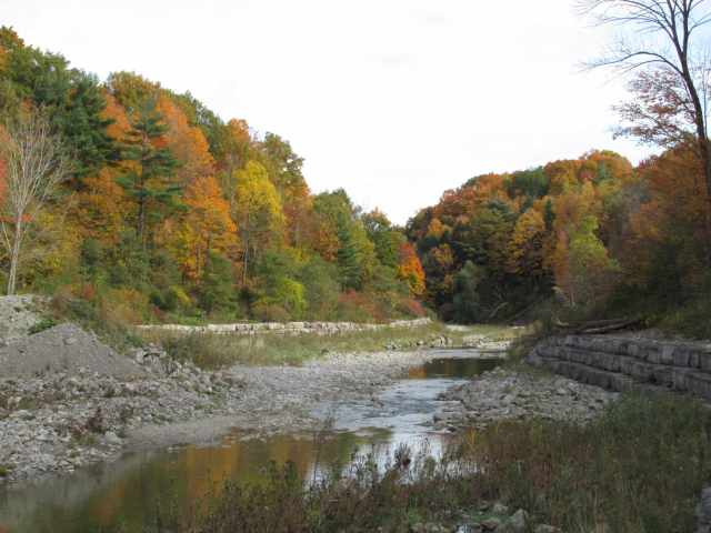 Fall on the Highland Creek